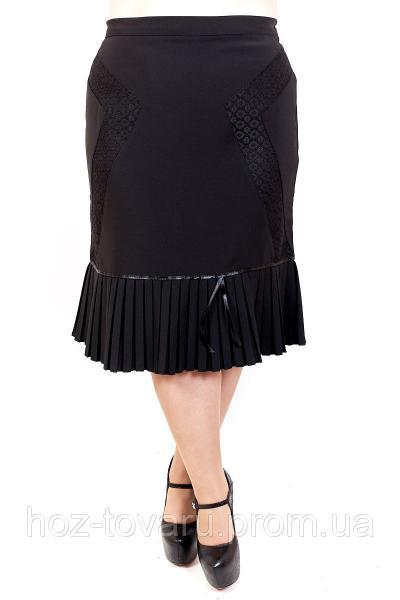 Юбка большого размера Анюта, юбка для полных женщин, юбка батал, дропшиппинг