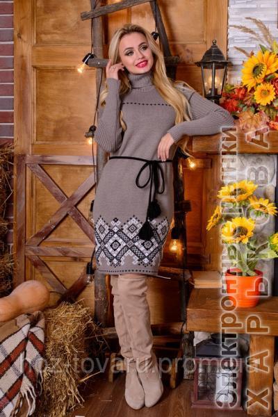 платье вязаное иванна 5 цветов вязанное платье теплое платье