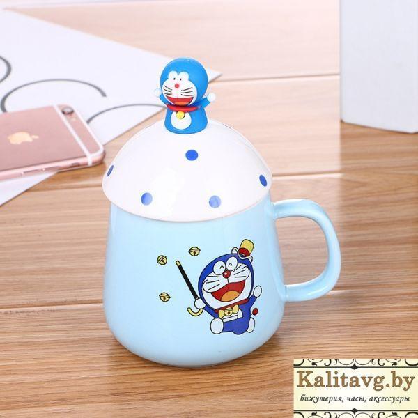 Чашка для мальчиков кот Doraemon