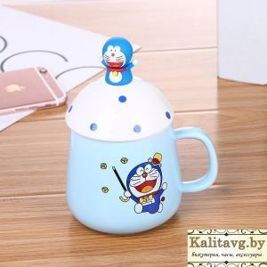 Фото  Чашка для мальчиков кот Doraemon