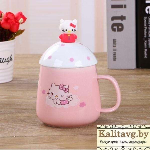 Чашка для девочек Китти