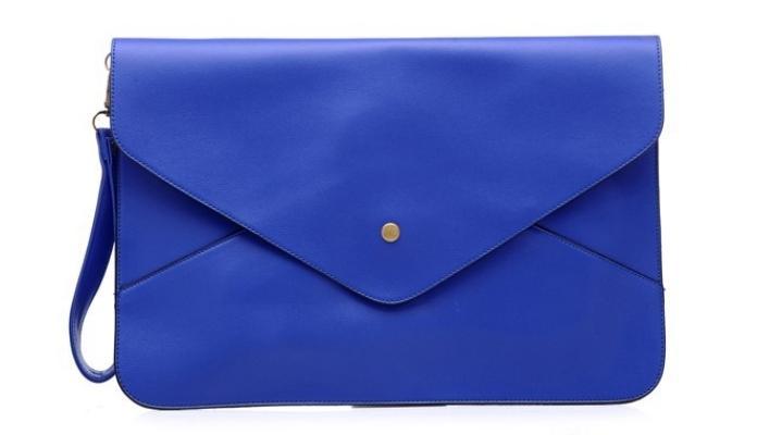 Клатч-конверт женский синий