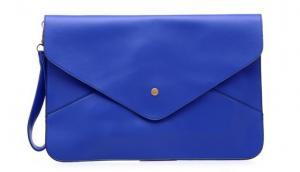 Фото  Клатч-конверт женский синий
