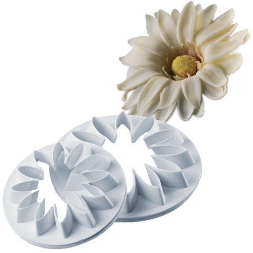 """Вырубка """"Ромашка цветы"""" набор из 3 форм пластик"""