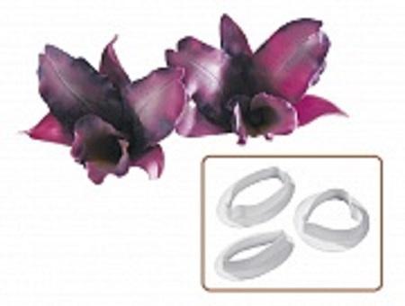 """Вырубка """"Орхидея """"Big Cinese"""" набор из 3 форм"""
