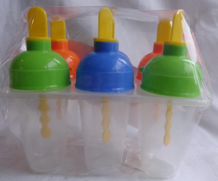 Формы для мороженого пластик из 6ти