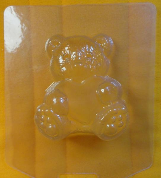 """Молд пластиковый """"Мишка Тедди"""" для мыла"""