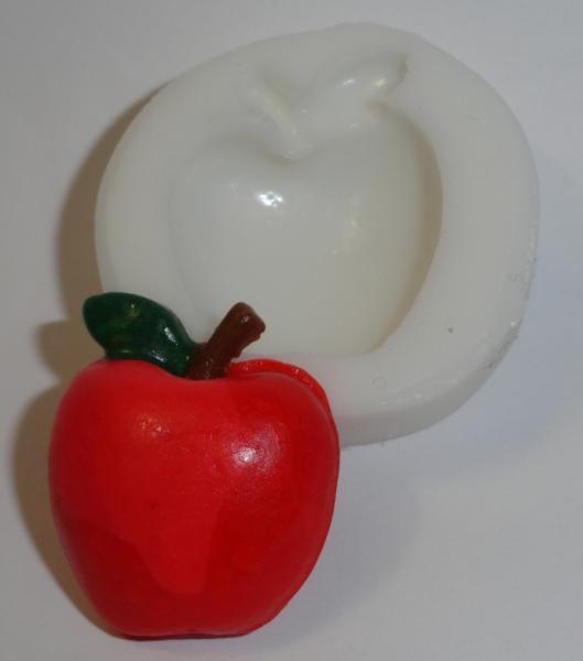 """""""Яблоко мини"""" силиконовый молд 3,3 см"""
