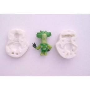 """""""Фиксики-Папус"""" силиконовый молд 3D 7,7-6,0 см"""