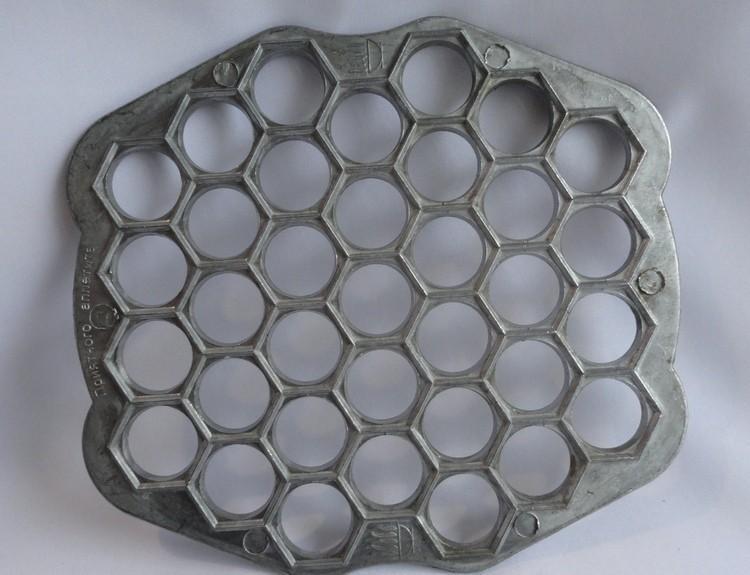 Пельменница фигурная алюминиевая 36 ячеек