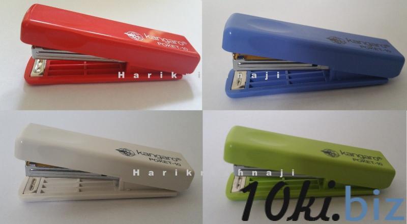 Степлер KANGARO POCKET №10 (цвет ассорти) купить в Беларуси - Расходные материалы для офиса