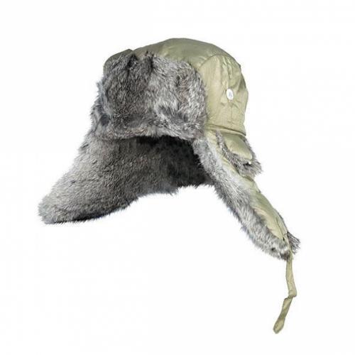 Шапка-ушанка Norfin Ardent натуральный мех (зеленая)