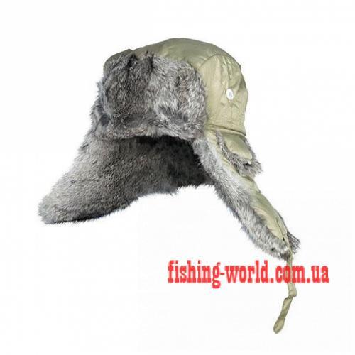 Фото Одежда для рыбаков и охотников, Головные уборы, Зимние шапки Шапка-ушанка Norfin Ardent натуральный мех (зеленая)