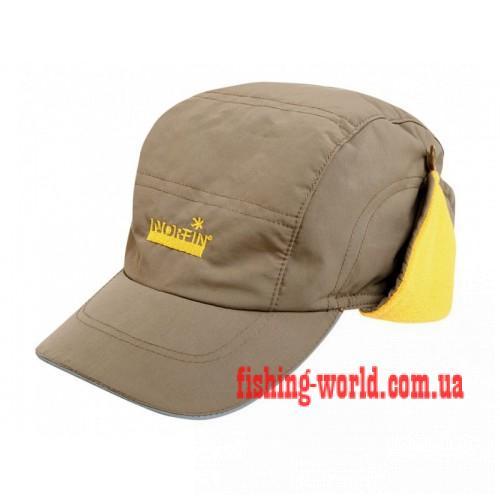 Фото Одежда для рыбаков и охотников, Головные уборы, Зимние шапки Шапка-ушанка Norfin SAIMAA BEIGE