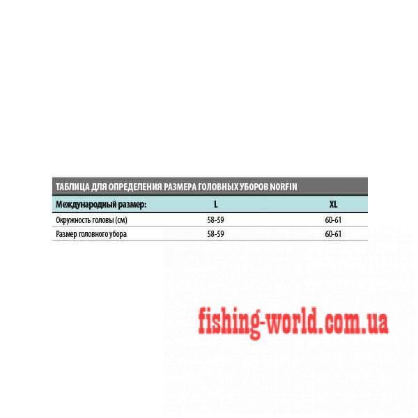 Фото Одежда для рыбаков и охотников, Головные уборы, Зимние шапки ШАПКА-УШАНКА NORFIN INARI GRAY