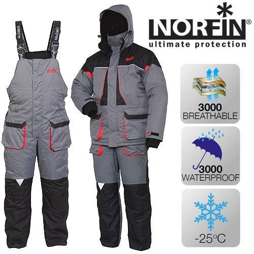 Костюм зимний Norfin ARCTIC RED