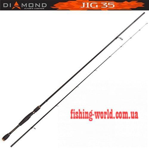 Фото Удочки и Спиннинги, Спиннинги Спиннинг Salmo Diamond JIG 35 2,34 м. (5513-234)