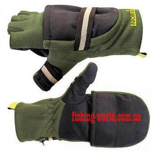 Фото Одежда для рыбаков и охотников, Перчатки, Варежки Перчатки-варежки Norfin 703080