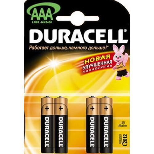 Элементы питания - Батарейка DURACELL LR 03