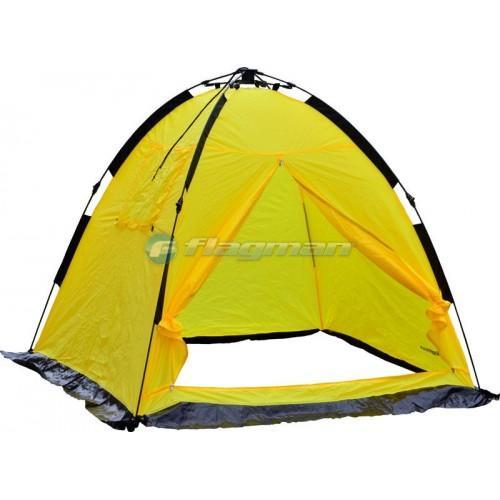 Зимние палатки - FLAGMAN Палатка зимняя полуавтоматическая 170*170*150см F1717Y