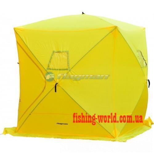 Фото Зимняя рыбалка, Зимние палатки Зимние палатки - FLAGMAN Палатка зимняя автоматическая 183*183*198см F1818O