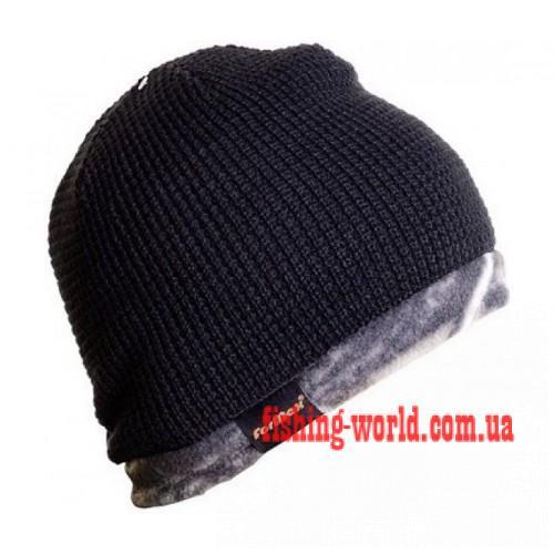 Фото Одежда для рыбаков и охотников, Головные уборы, Зимние шапки Шапка ForMax HUNTTING HAT черная