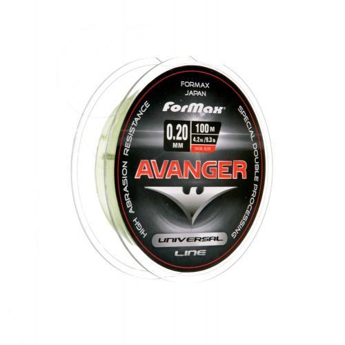 Лески - Леска FORMAX AVANGER OLIVE 100МТ 0.20мм FX030-01-200