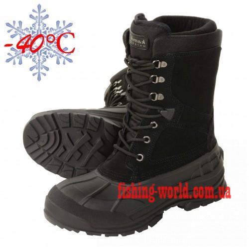 Фото Обувь для рыбаков и охотников Ботинки зимние Kamik Nationplus