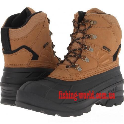 Фото Обувь для рыбаков и охотников Ботинки зимние Kamik Fargo