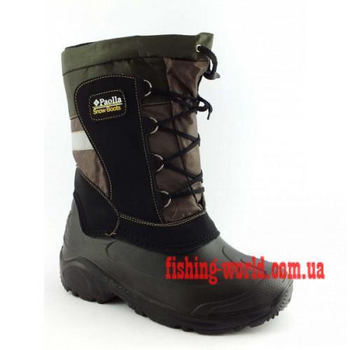 Фото Обувь для рыбаков и охотников Зимние  сапоги на пене GMR Progres