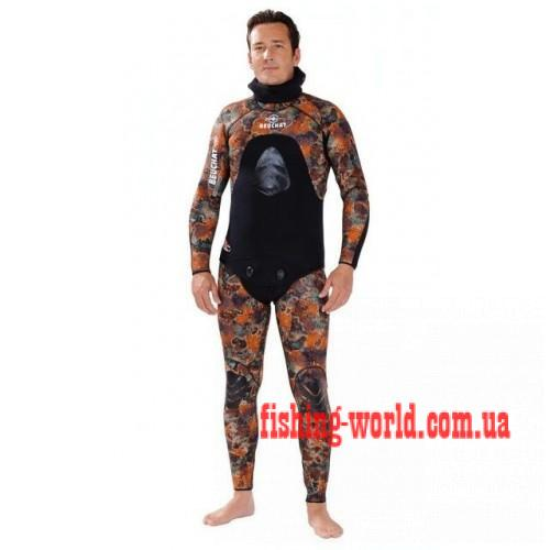 Фото Подводная охота, Дайвинг, Гидрокостюмы Гидрокостюм Beuchat Mundial Eguipe Camo 5.5мм