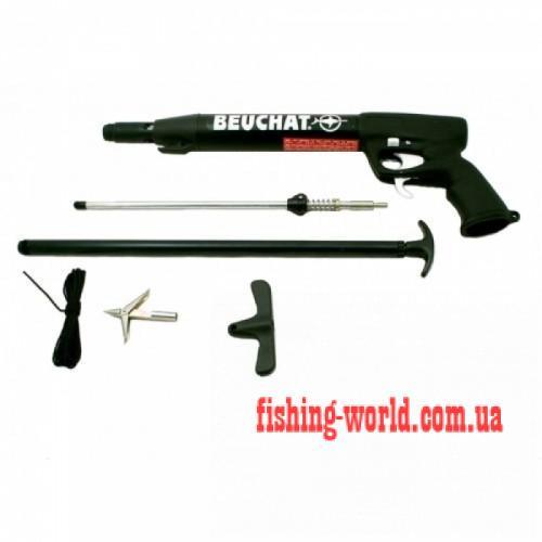 Фото Подводная охота, Дайвинг, Подводные ружья Пневматическое ружье для подводной охоты Beuchat Mundial Airgun 70 R с регулятором боя