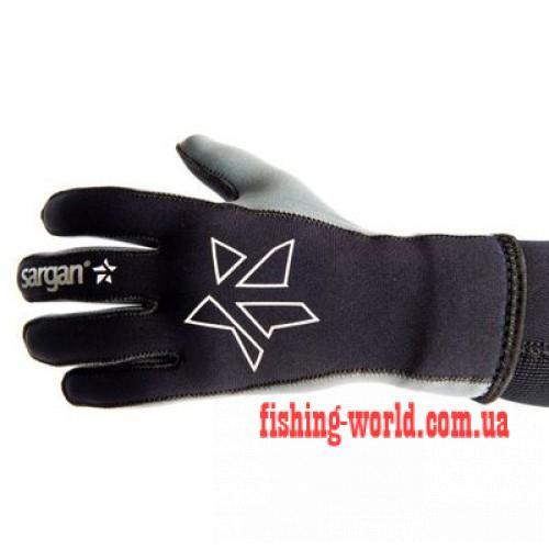 Фото Подводная охота, Дайвинг, Перчатки для подводной охоты Перчатки Sargan Сарго 3 мм