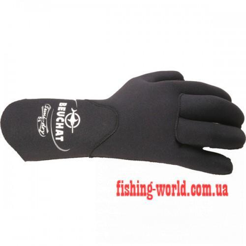 Фото Подводная охота, Дайвинг, Перчатки для подводной охоты Перчатки  Beuchat Semi-Dry 5 мм