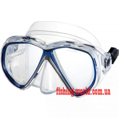 Фото Подводная охота, Дайвинг, Маски Подводная маска IST M75-1B/W MARTINIQUE SIL белая