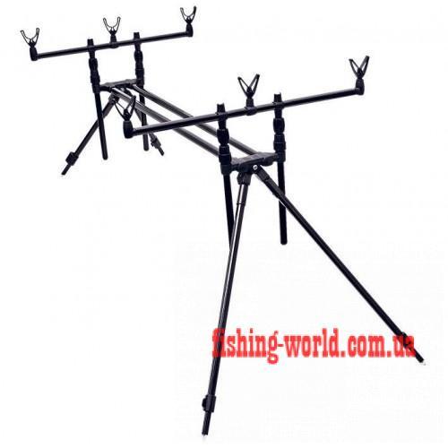 Фото Подставки для удилищ и Сигнализаторы, Род поды (подставки) Подставка карповая для удилищ Flagman Carp Pro Rod Pod (CP90452)