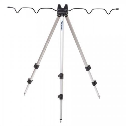 Телескопическая тренога для 4-х удилищ