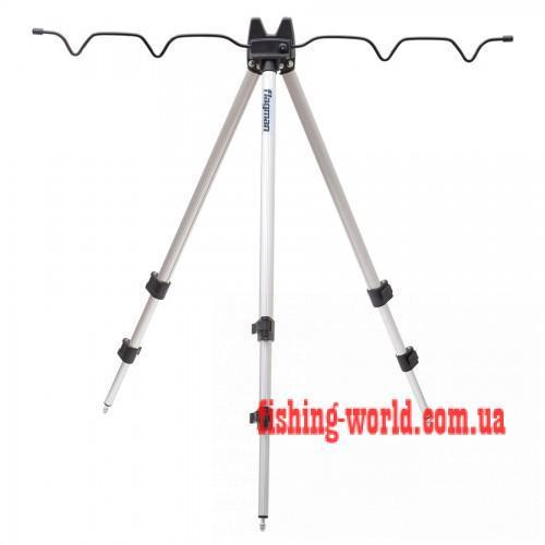 Фото Подставки для удилищ и Сигнализаторы, Род поды (подставки) Телескопическая тренога для 4-х удилищ