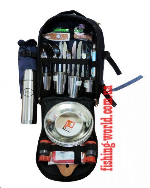 Фото Термосумки, Наборы для пикника,Термоса(TRAMP) Термо-рюкзак с набором для пикника Fish-master