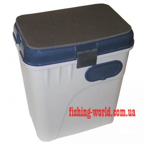 Фото Рыболовные Ящики и Коробки Ящик зимний Aquatech 1870 (синий)