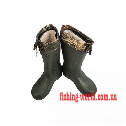 Фото Обувь для рыбаков и охотников Мужские сапоги Крок Следопыт