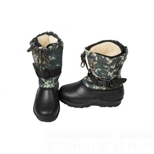 Зимние сапоги Крок М-7 пиксель - Обувь для охоты и рыбалки на рынке  Барабашова 81461584aa40d