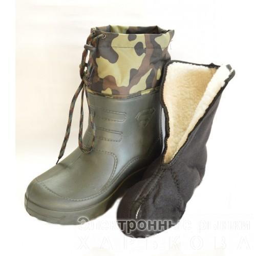 САПОГИ МУЖСКИЕ КРОК S (Б 12) - Обувь для охоты и рыбалки на рынке Барабашова 23365da46ef0f