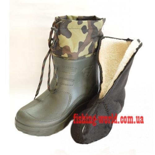 Фото Обувь для рыбаков и охотников САПОГИ МУЖСКИЕ КРОК S (Б 12)