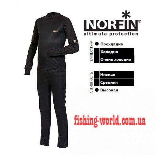 Фото Одежда для рыбаков и охотников, Термобелье Термобельё подрастковое Norfin Thermo Line Junior рост 170