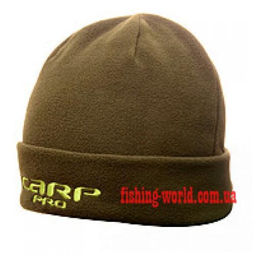 Фото Одежда для рыбаков и охотников, Головные уборы, Зимние шапки Шапка флисовая CARP PRO