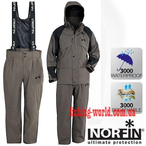 Фото Одежда для рыбаков и охотников, Демисезонные костюмы Костюм демисезонный Norfin GALE   S