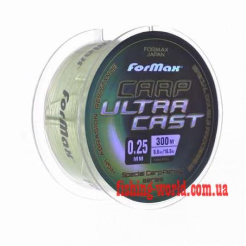 Фото Рыболовные снасти, Леска, Шнуры Леска FORMAX Carp Ultra Cast 300м  0,3 мм