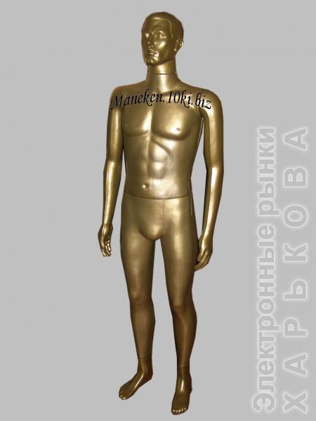 Манекен мужской Сенсей бронза в полный рост - Манекены на рынке Барабашова