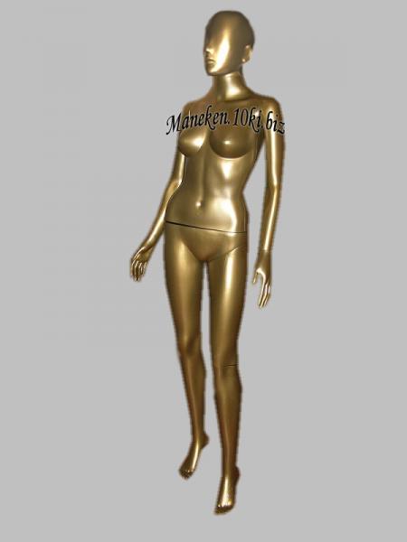 Манекен женский цвет - бронза в полный рост аватар